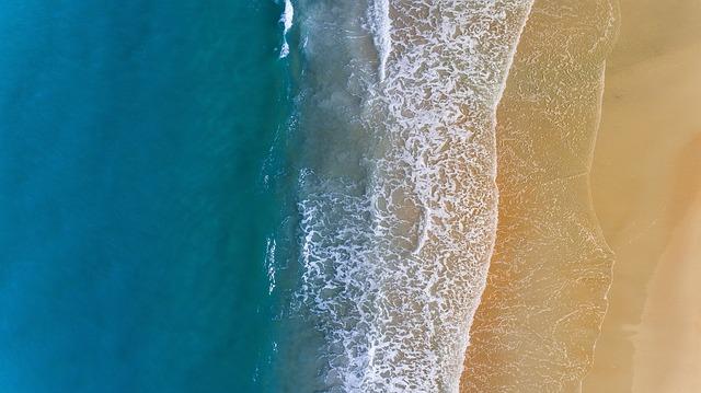 okraj moře