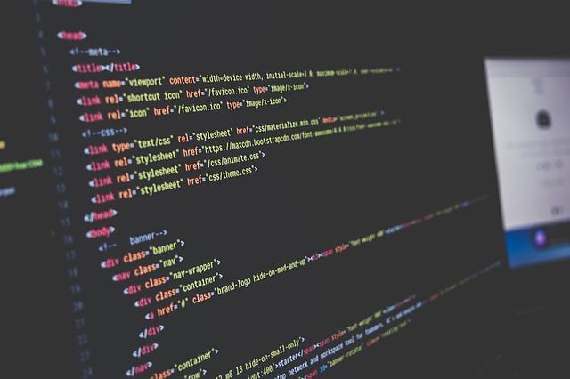 počítačový kód