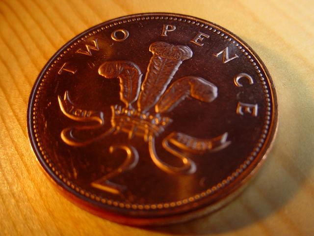 mince – dvě pence