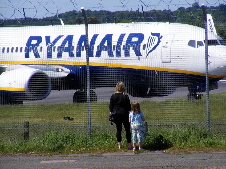 pozorování letadla